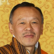 Bhutan's PM, Jigmi Thinley